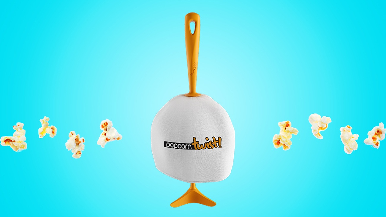 PopcornTwist Portable Popcorn Maker