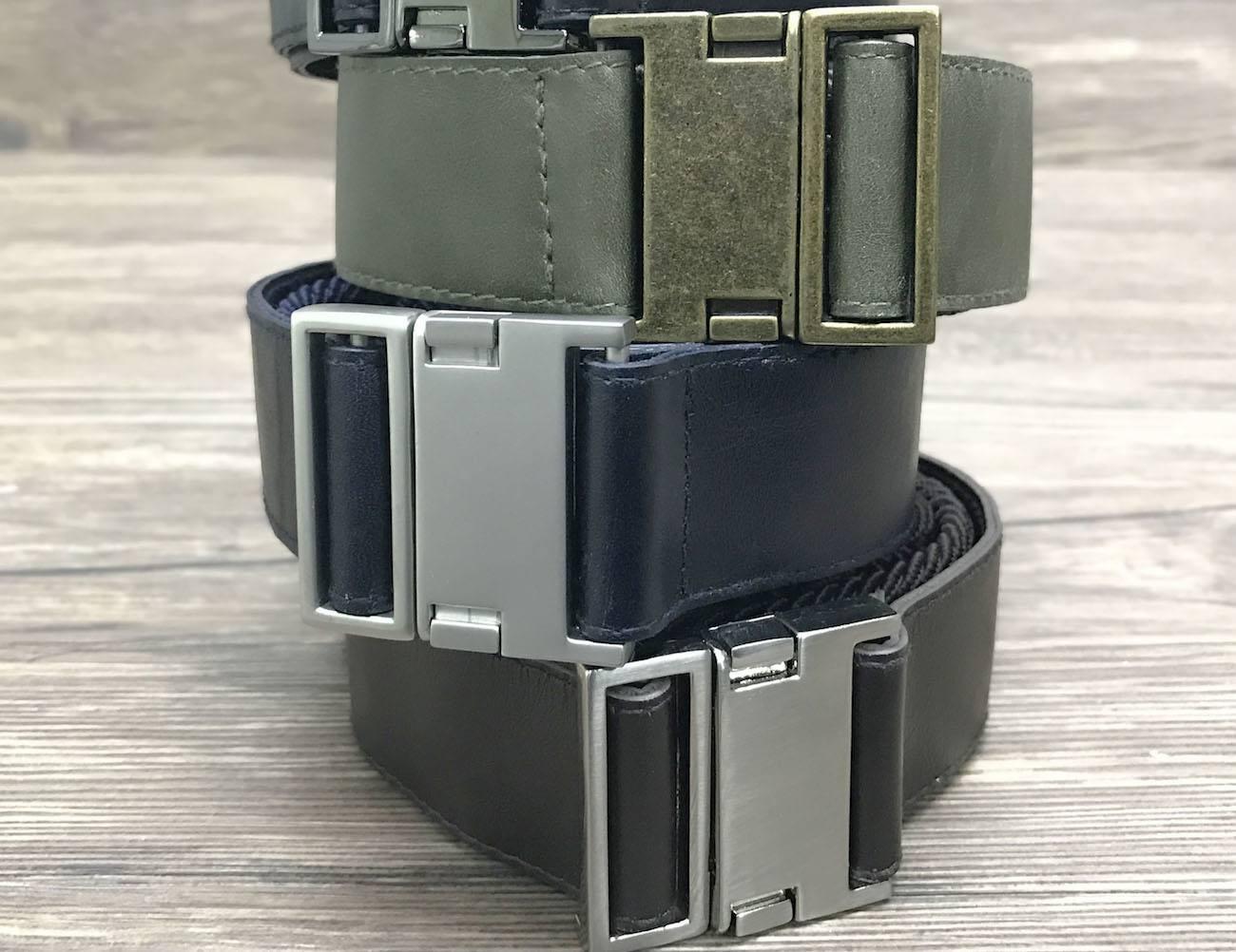 Qlick Belt Magnetic Leather Belt