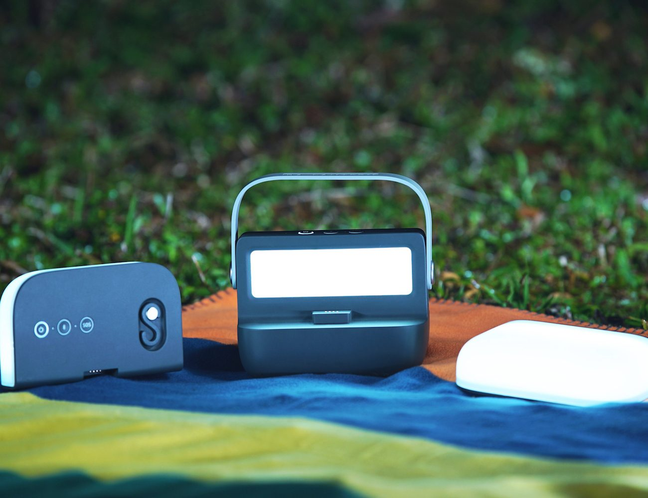 Ra. 3-in-1 Radio GPS Adventure Lantern