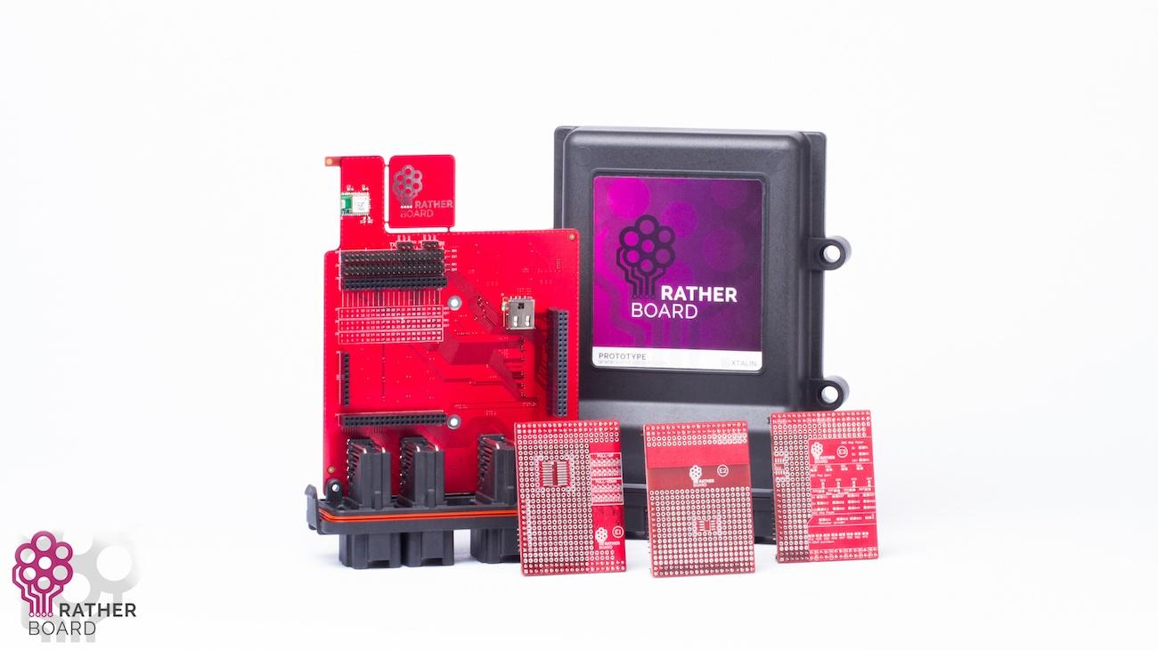 Ratherboard Waterproof Raspberry Pi Motherboard