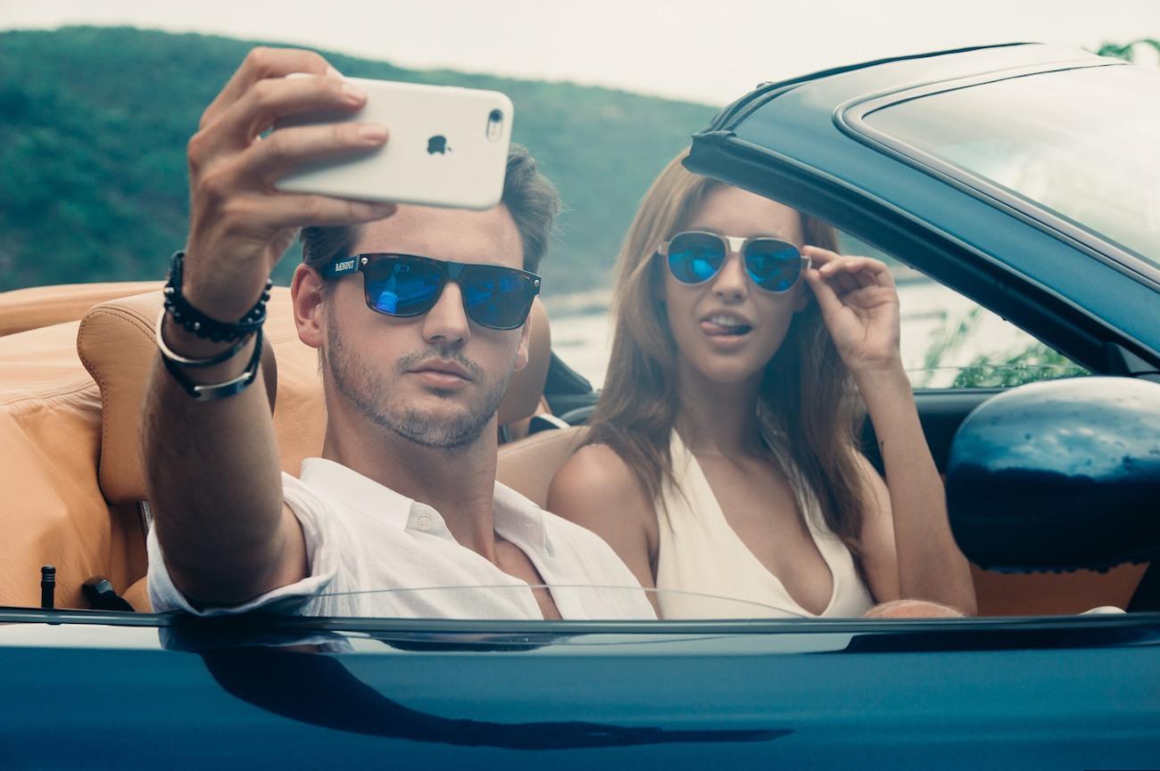 Red Barron Edition Flexible Sunglasses