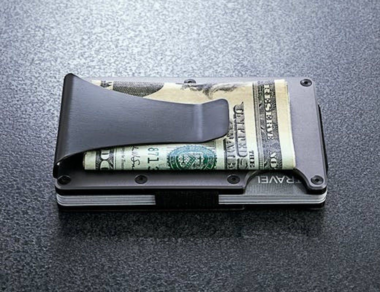 Ridge Aluminum Wallet Money Clip