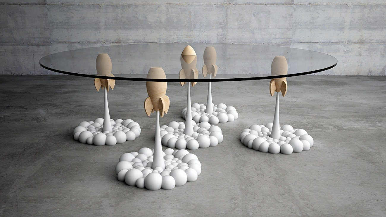 Rocket Coffee Table by Mousarris