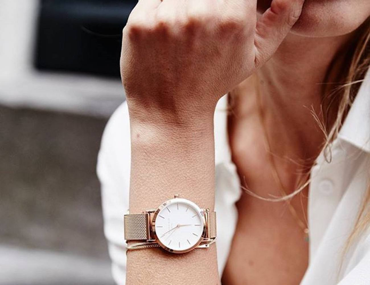 Rosefield Tribeca Rose Gold Watch