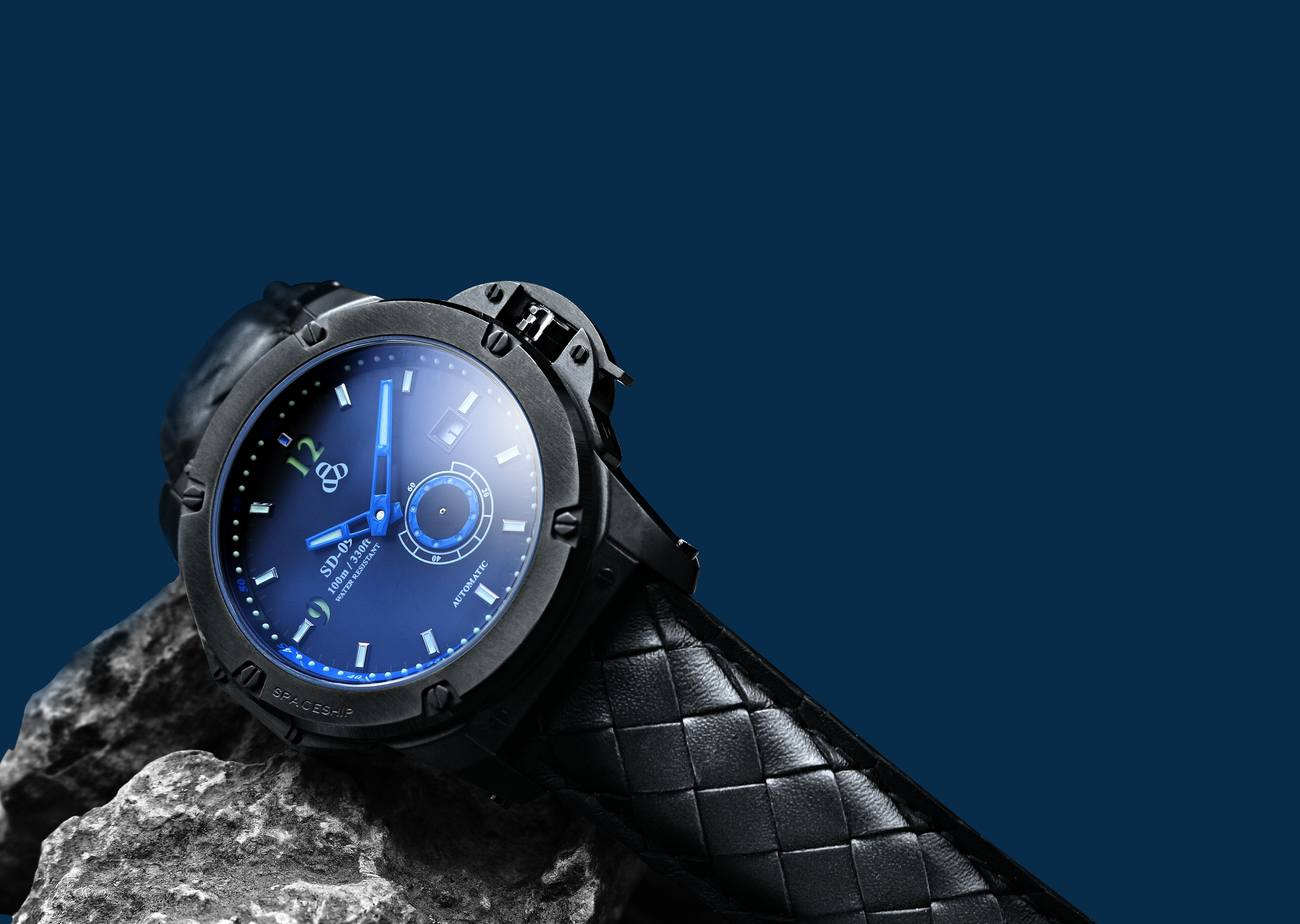 SD-09 Spacecraft Sci-Fi Watch
