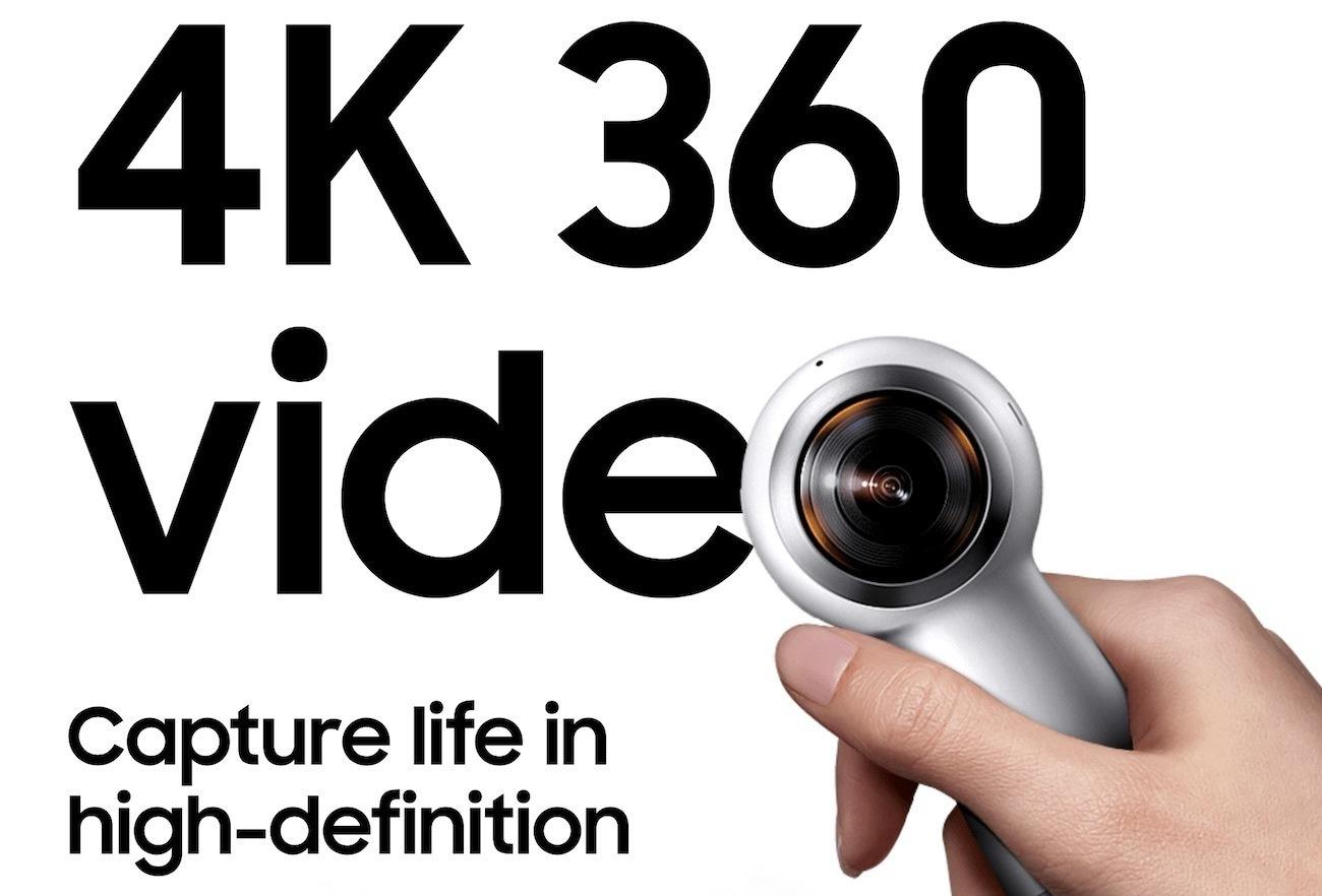 Samsung Gear 360 4K Camera