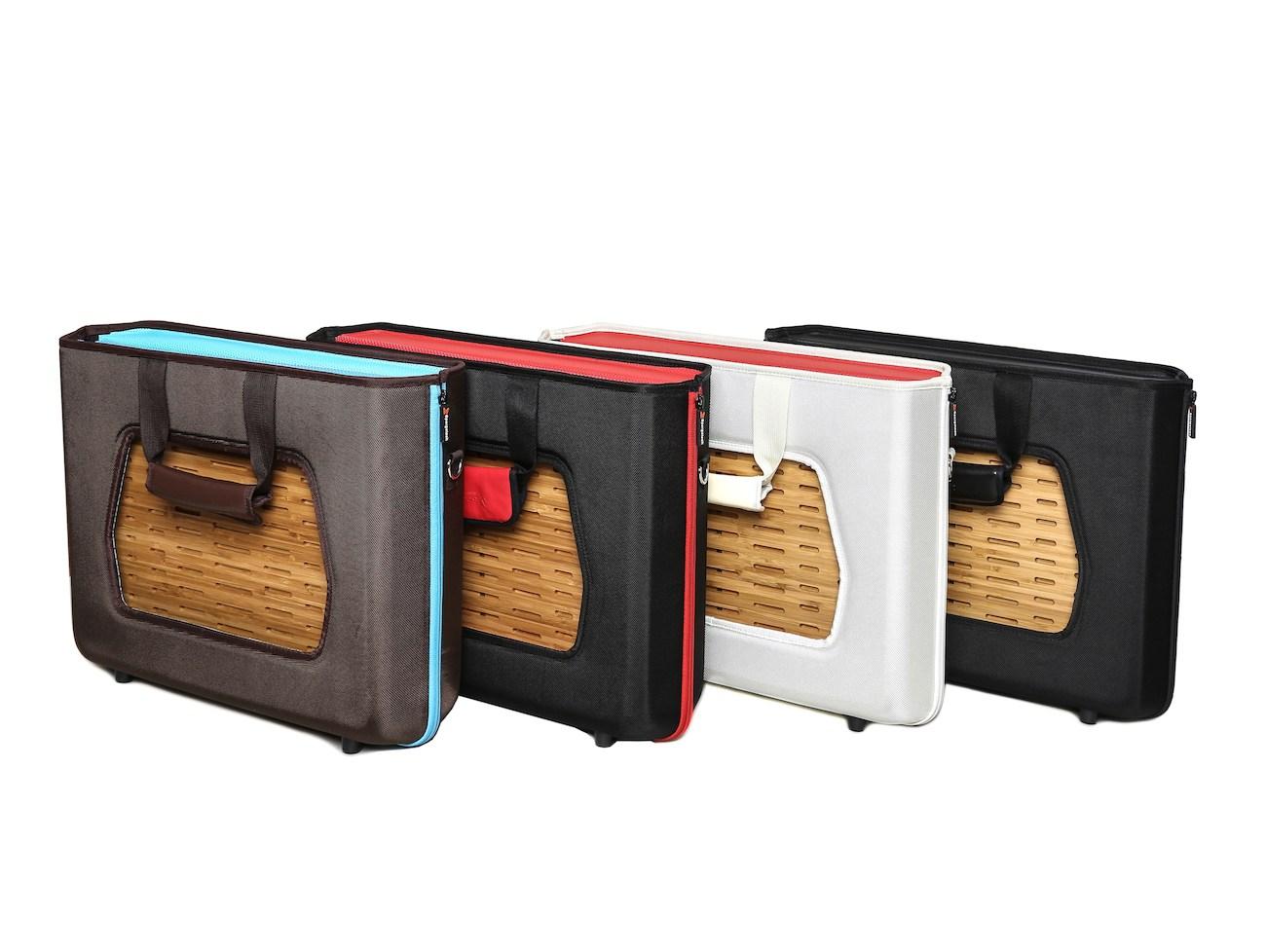SatchelBord Truly Portable Workstation