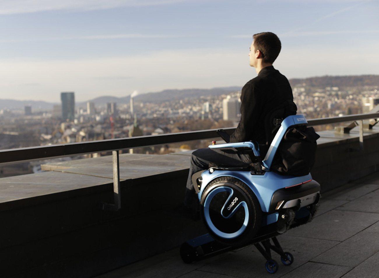 Scewo Stair Climbing Wheelchair » Gadget Flow
