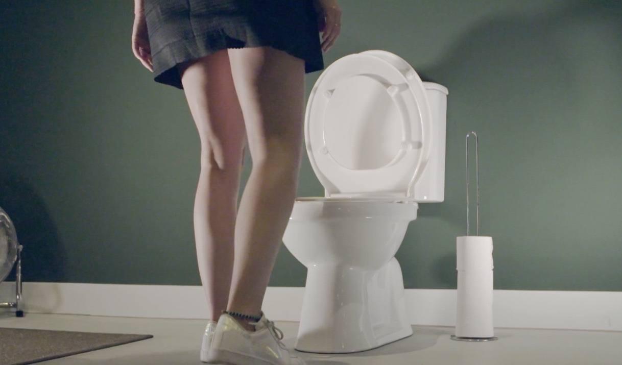Seatswing – Hands-Free Toilet Seat