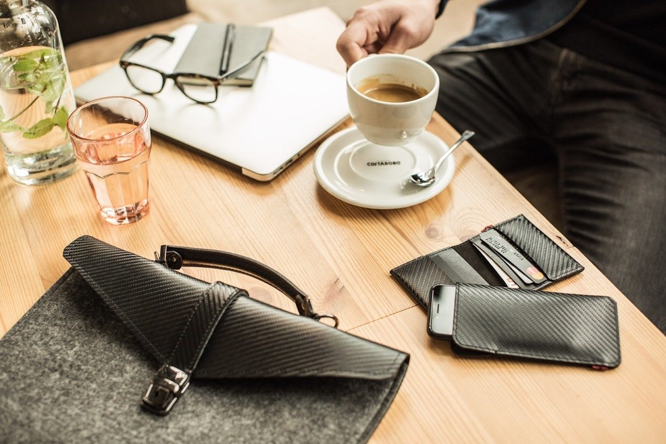 Slim Felt Laptop Briefcase by ÉSTIE