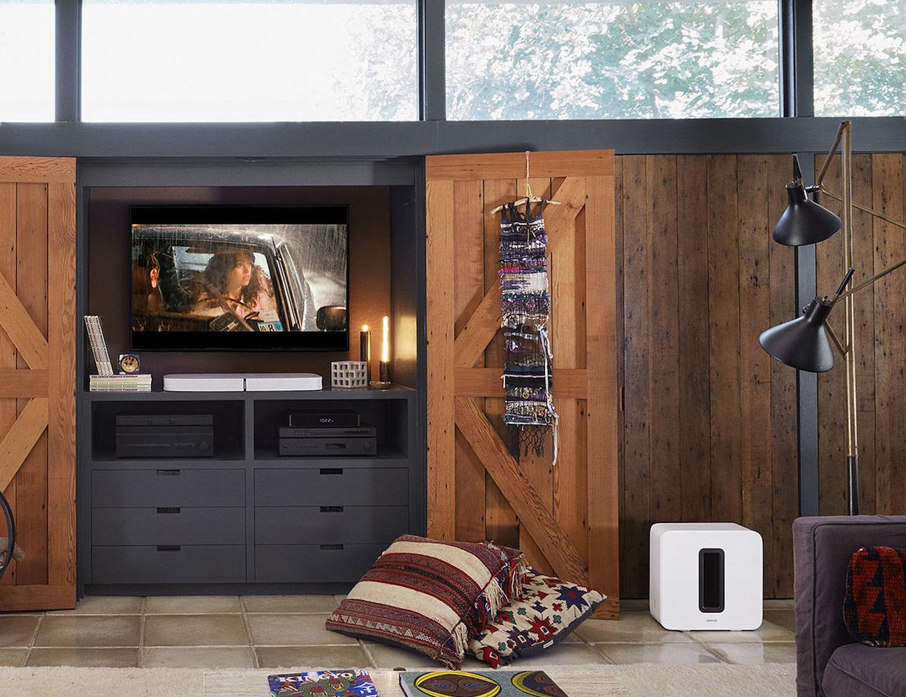 Sonos Playbase Wireless Soundbase Speaker