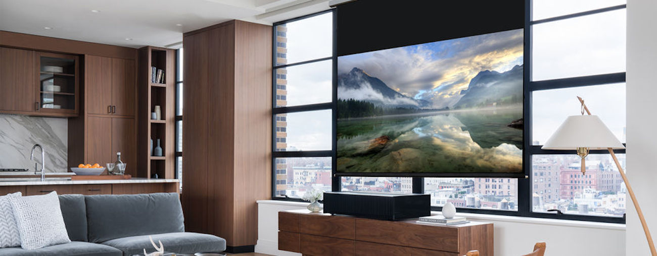 Sony Ultra-Short Throw 4K HDR Home Theater Projector