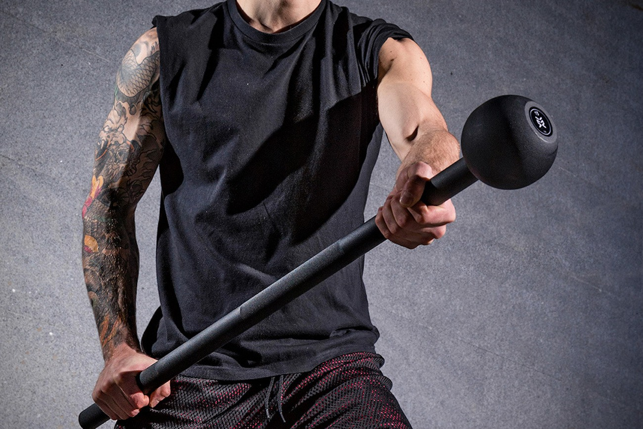 Steel Mace Personal Fitness Tool