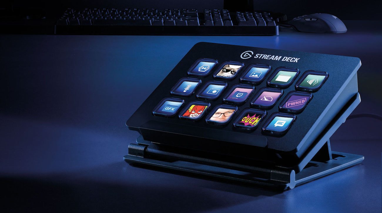 Stream Deck Live Content Creation Controller