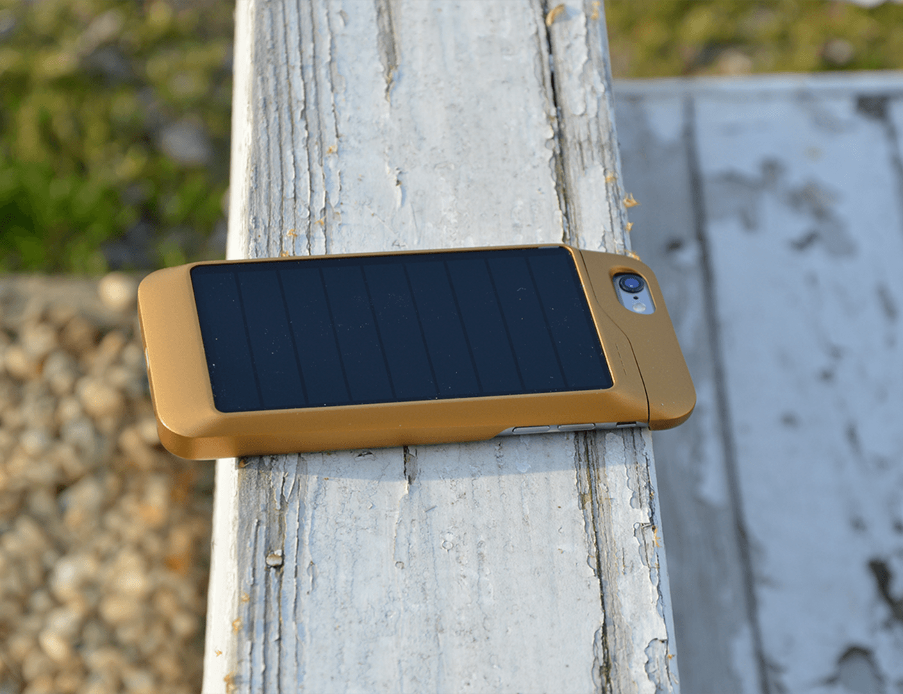 Sunthetic Ultra Thin Solar iPhone Case