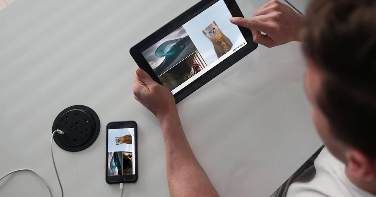Superscreen Portable Touchscreen Display
