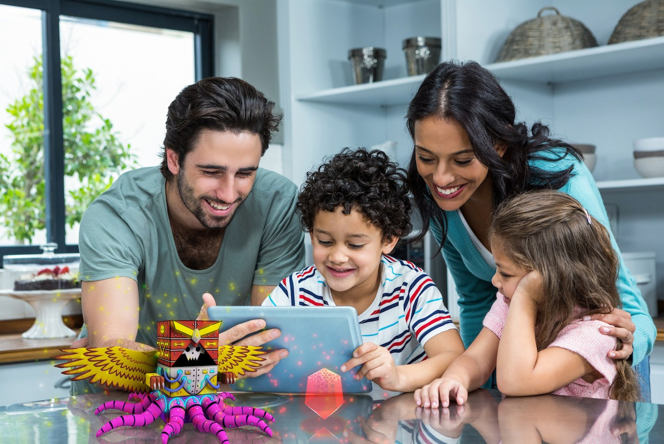 SwapBots Augmented Reality Toys and Video Game