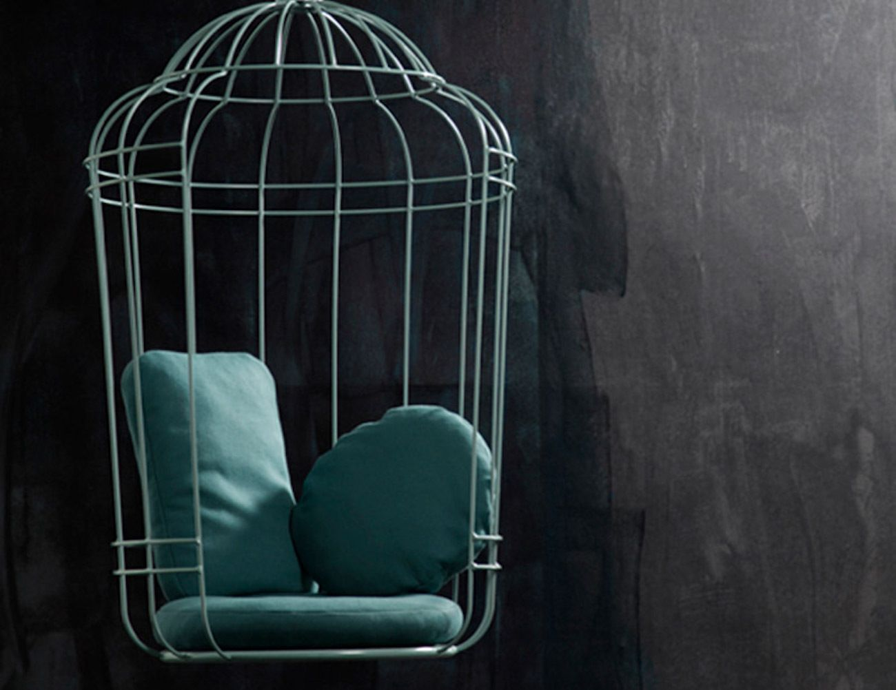 Swing Cageling Birdcage Chair