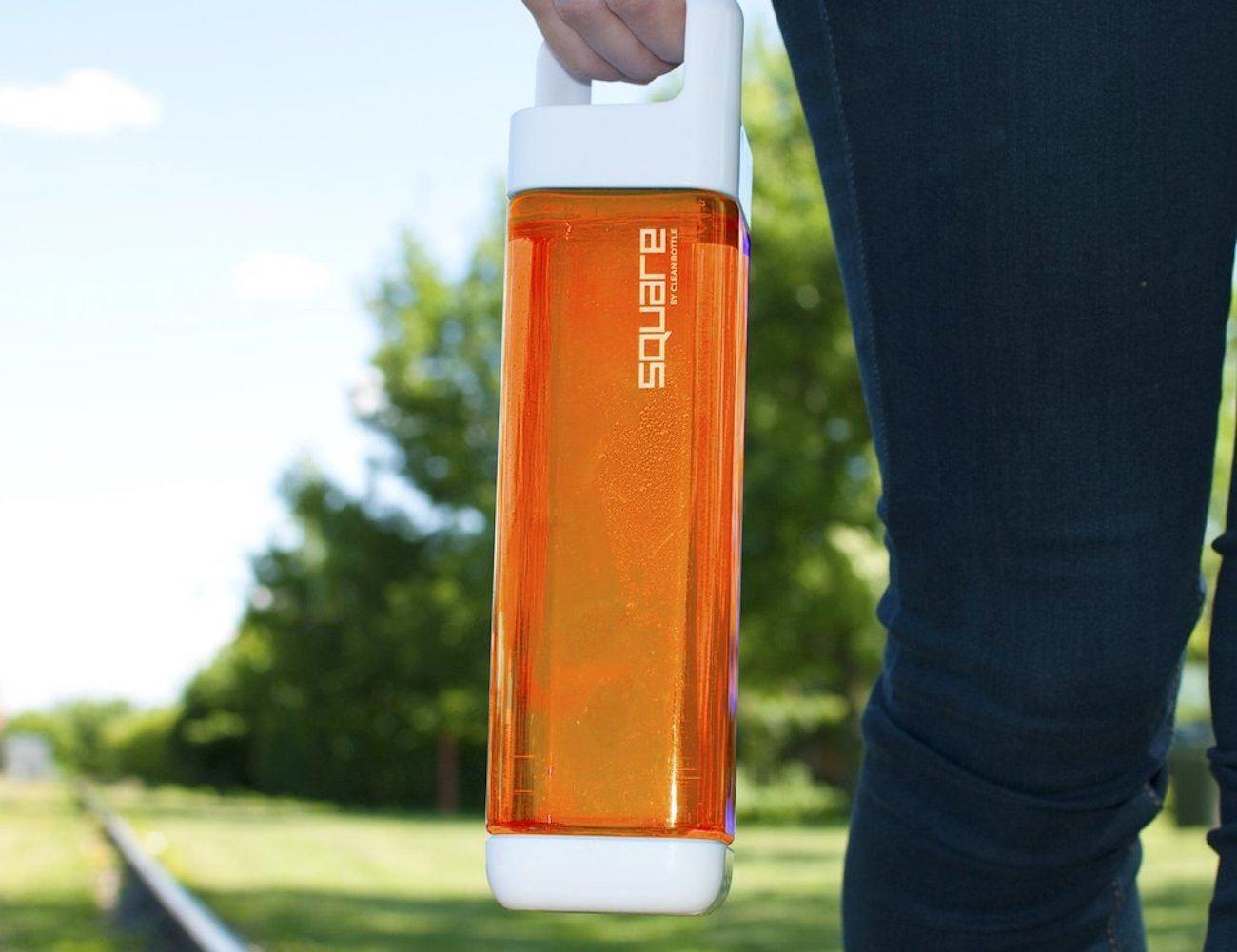 Tritan Square Clean Bottle