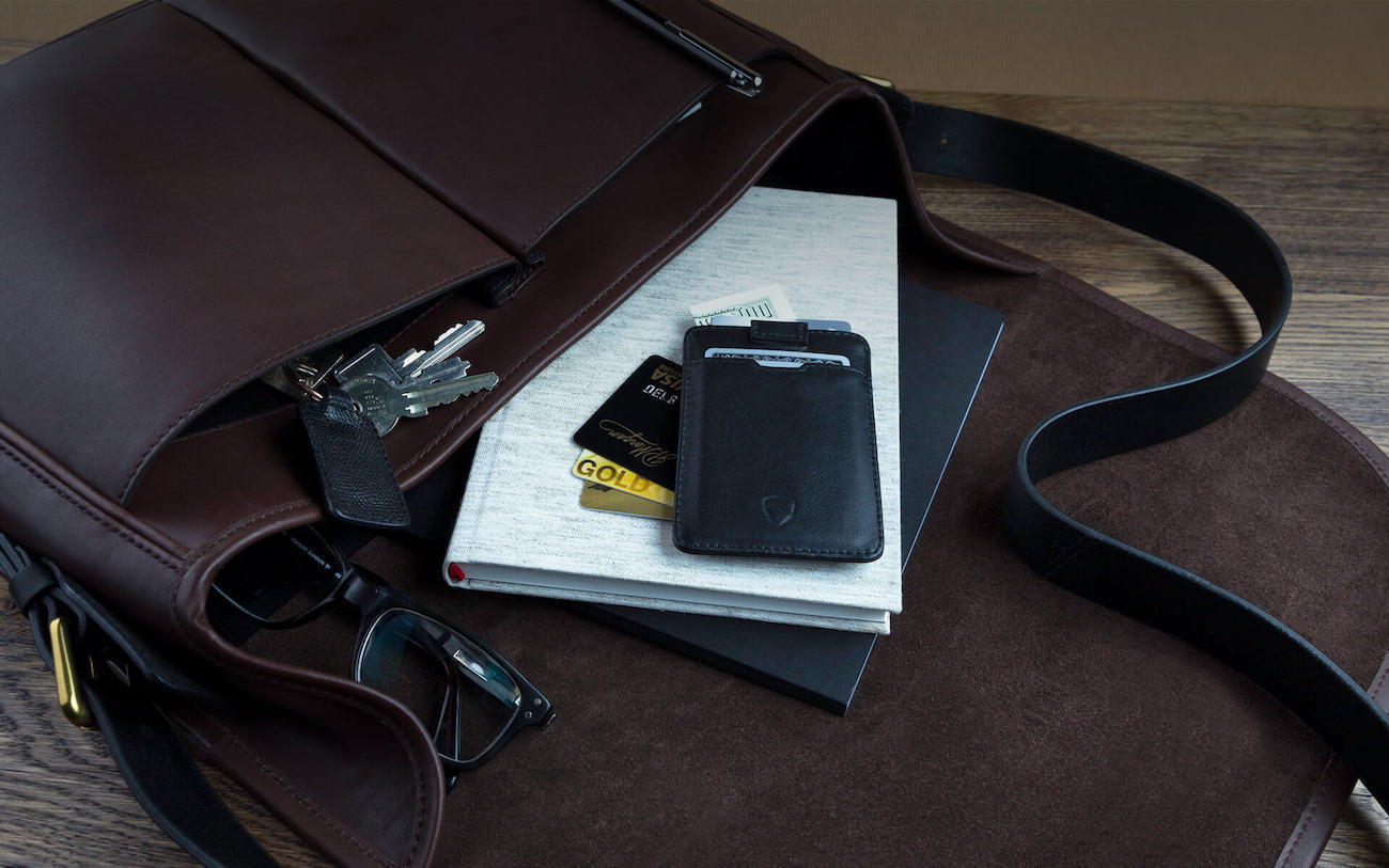 Vaultskin Chelsea Slim Leather Wallet