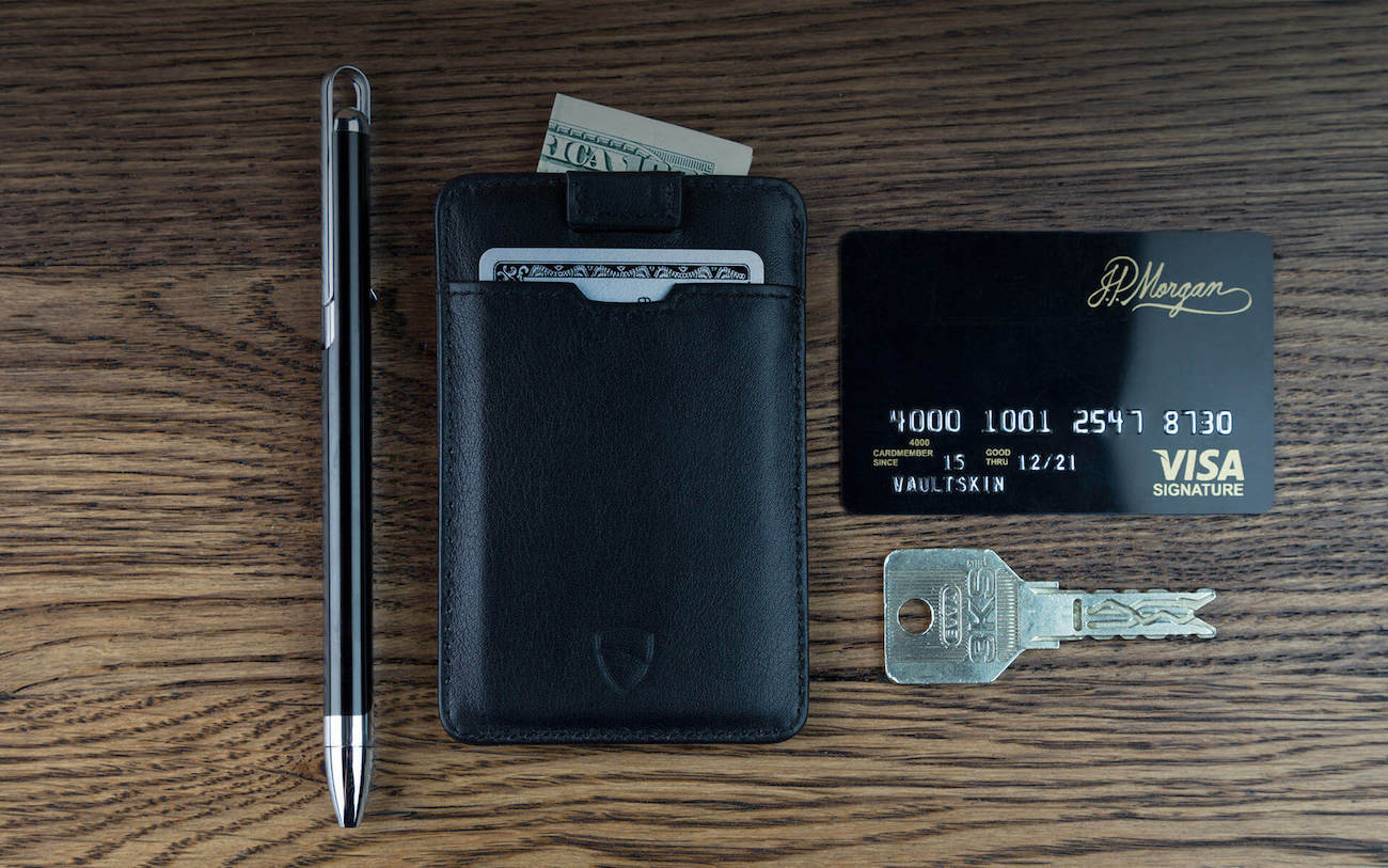 Vaultskin Chelsea Slim Leather Wallet