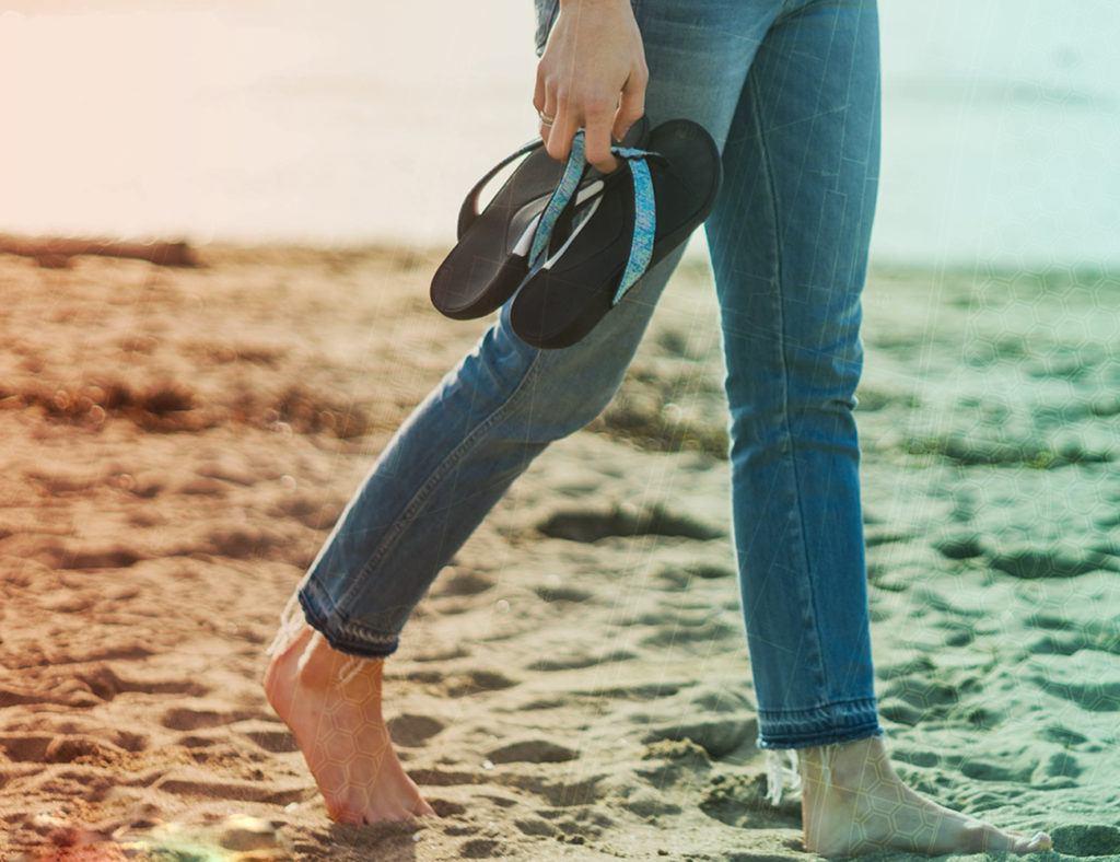 Wiivv+Custom+Fit+3D+Printed+Sandals