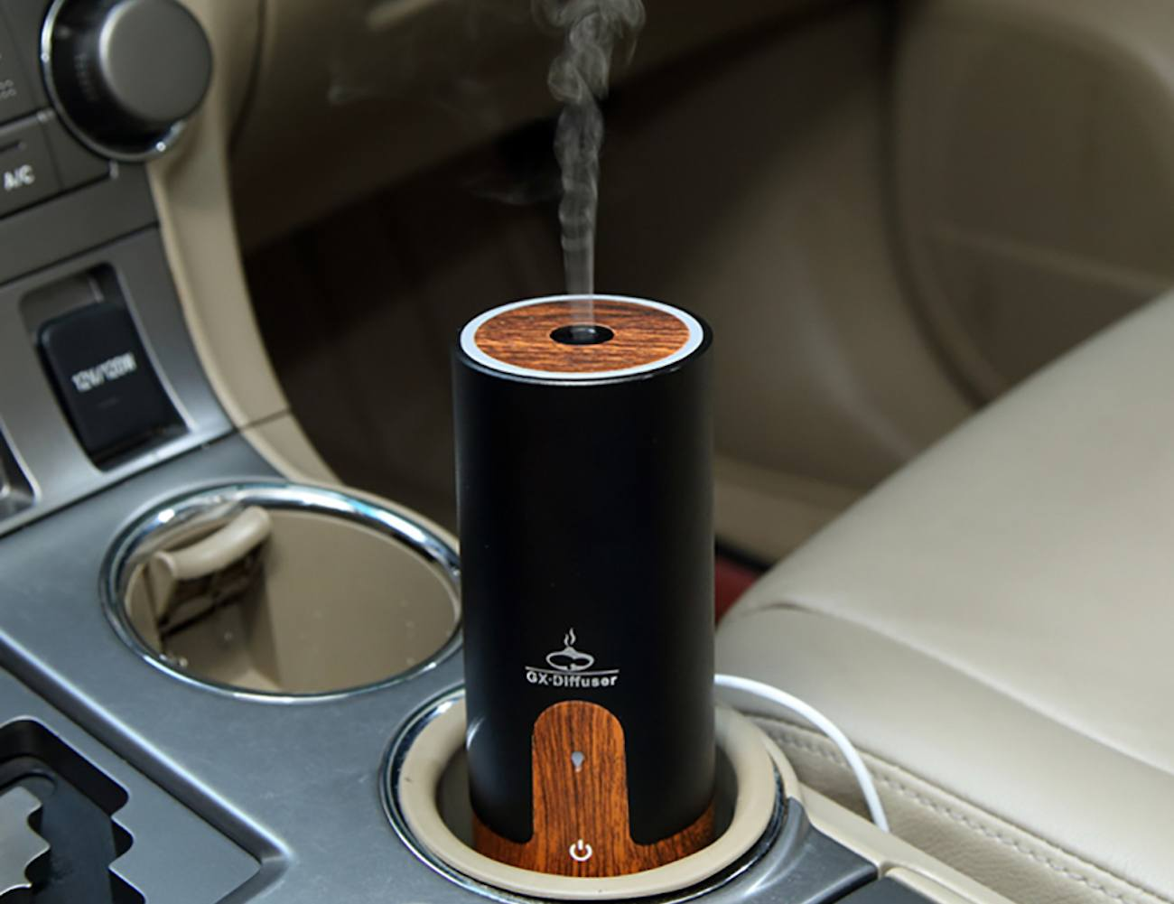 Wooden+USB+Car+Humidifier