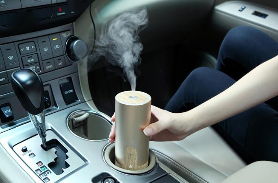 Wooden USB Car Humidifier