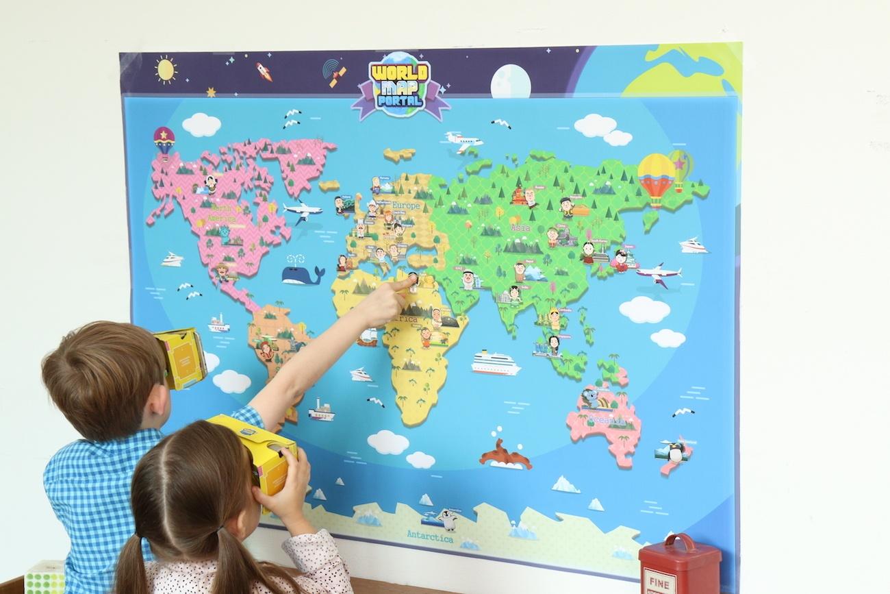 WorldMapPortal+Mixed+Reality+Map