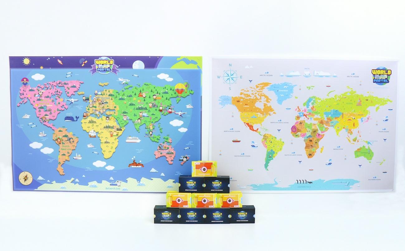WorldMapPortal Mixed Reality Map