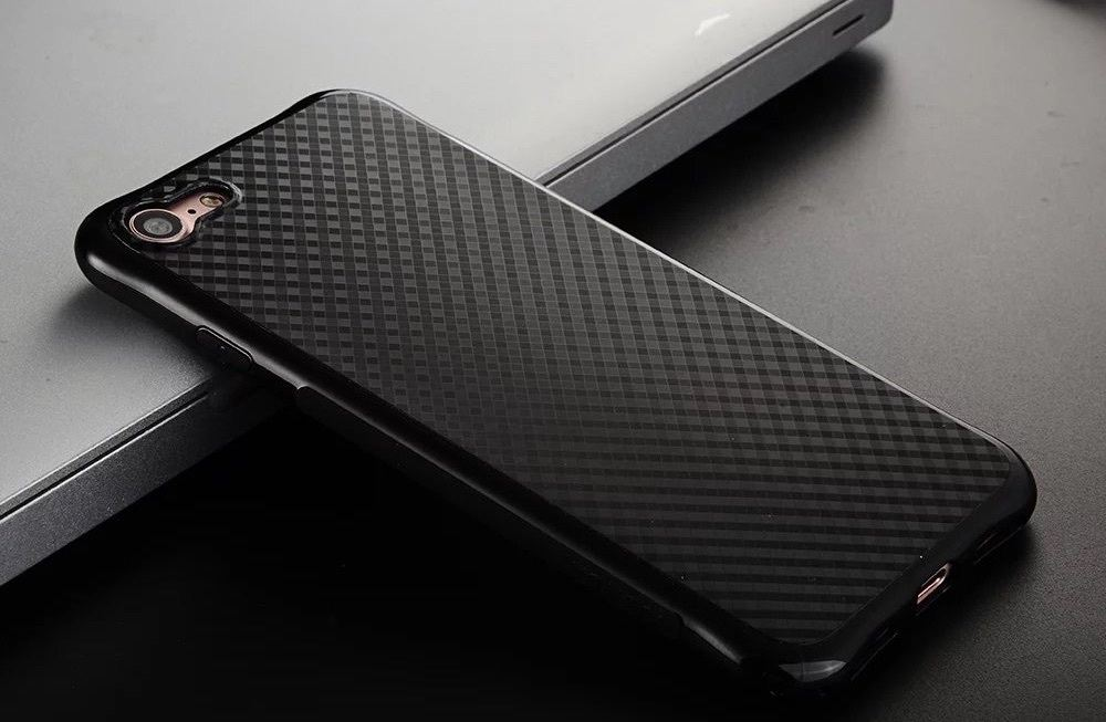 Shockproof+IPhone+7+Back+Skin+Cover