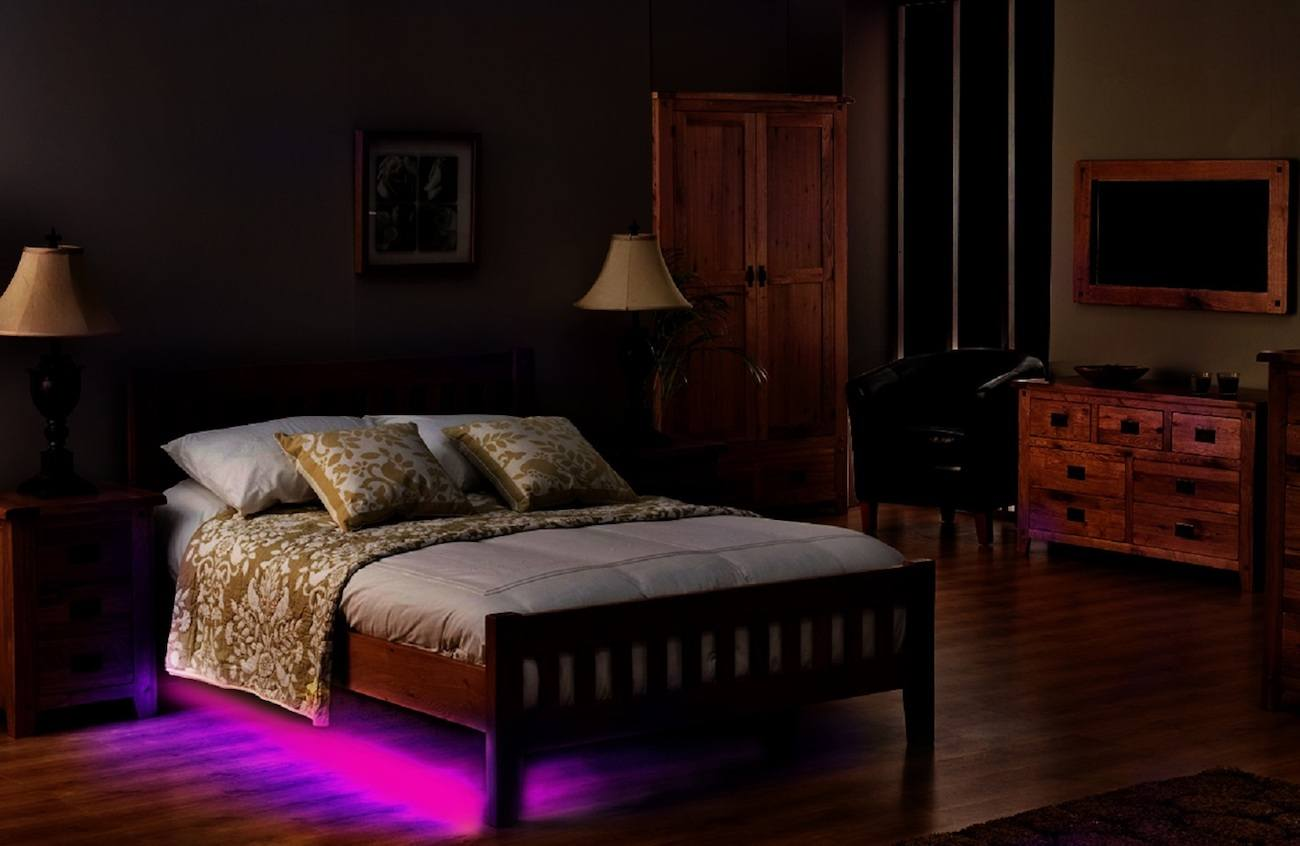 Bedroom at night time - A Bedroom Night Bedroom Night Gadget Flow