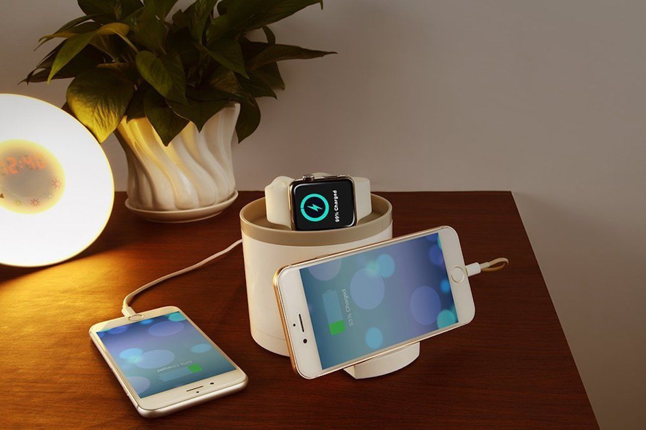 imobi4 Apple Watch Nightstand Charger