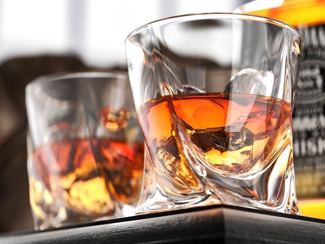 Ashcroft Twist Whiskey Glass Set