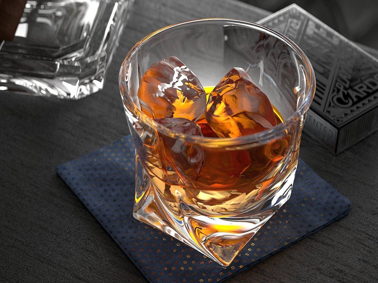 Ashcroft Twist Whiskey Glass Set
