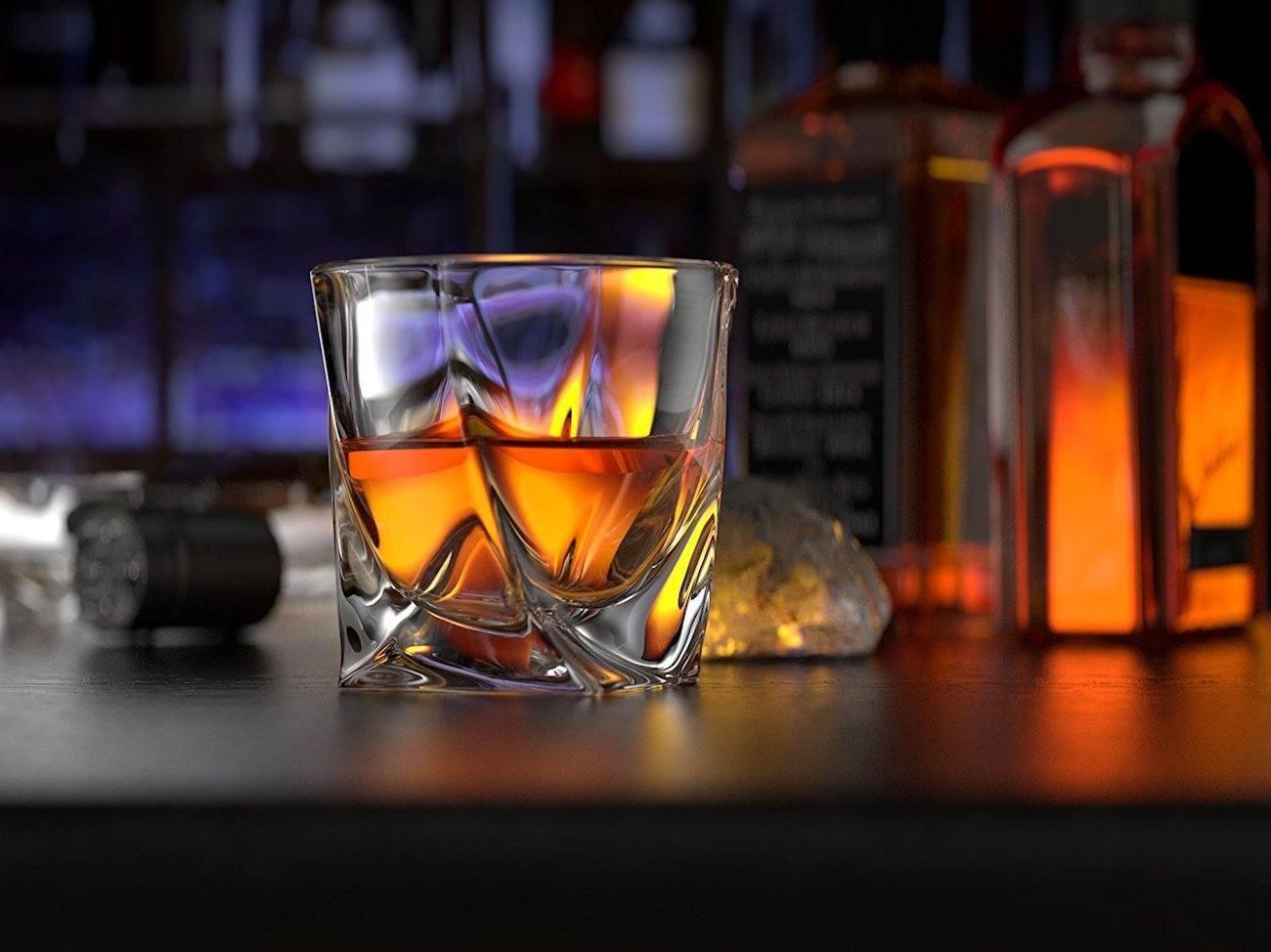 ashcroft twist whiskey glass set - Whiskey Glass Set