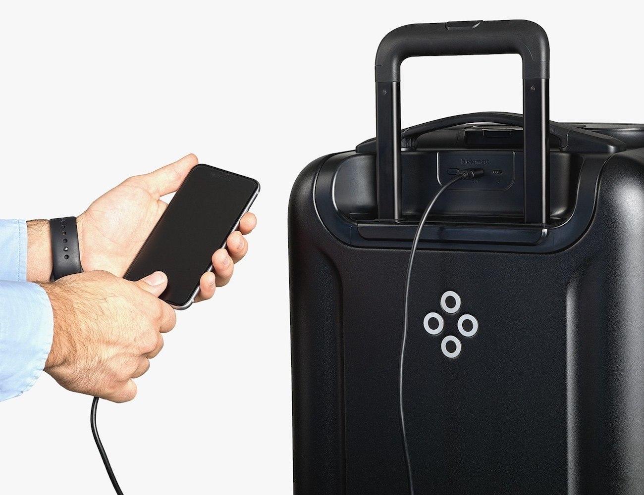 Bluesmart Black Smart Suitcase