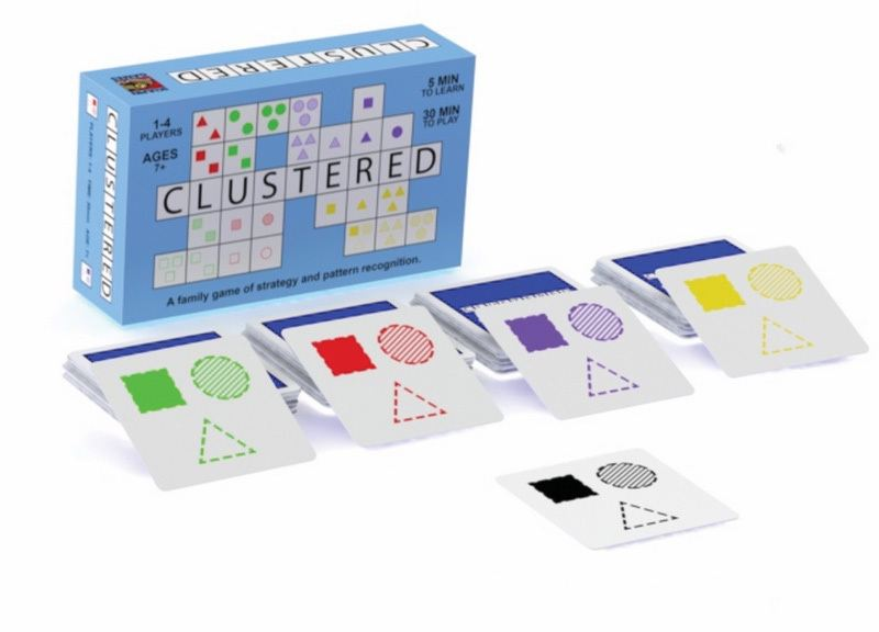 Clustered Strategic Card Game