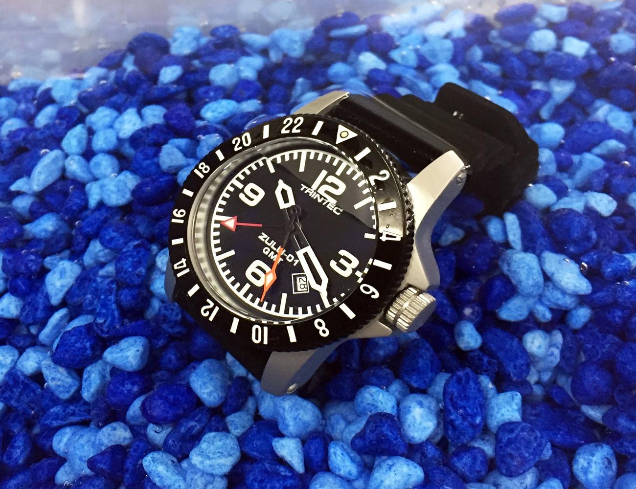 CoPilot GMT Quartz Aviator Watch
