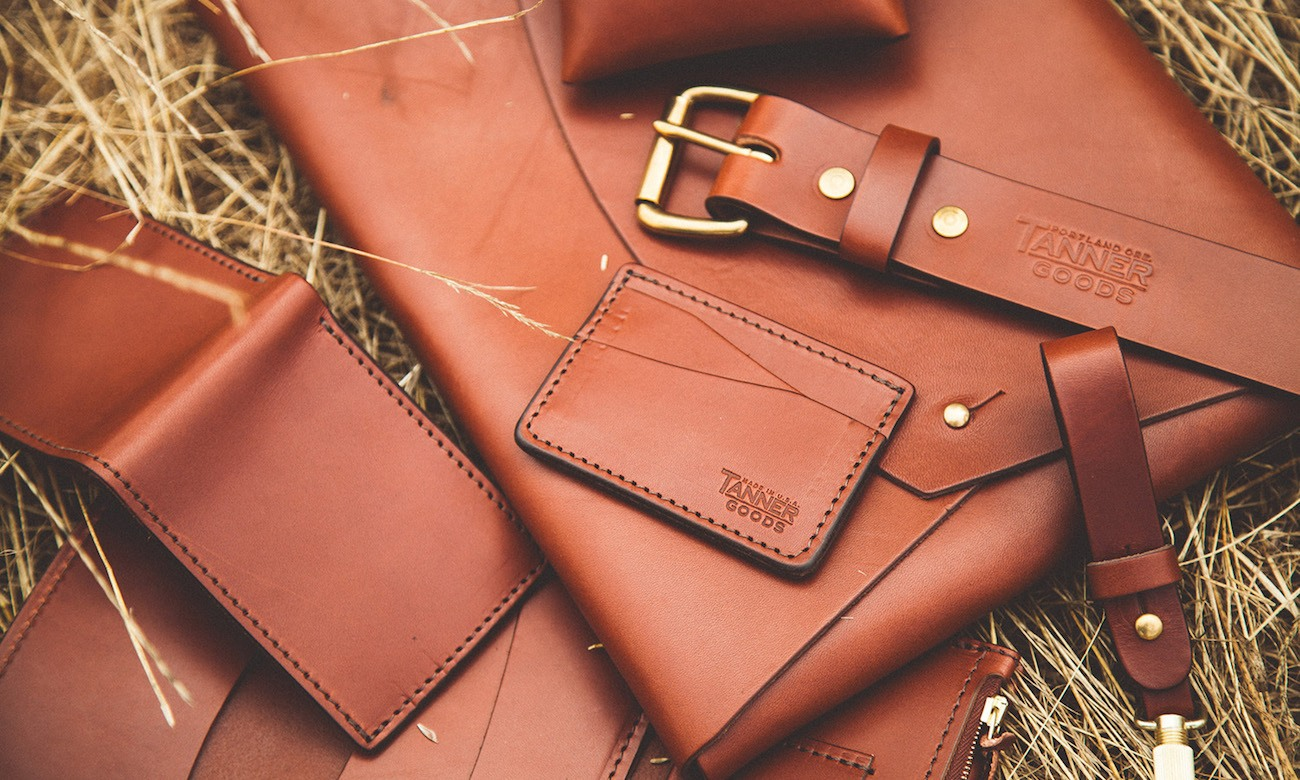 Cordovan Journeyman Leather Wallet