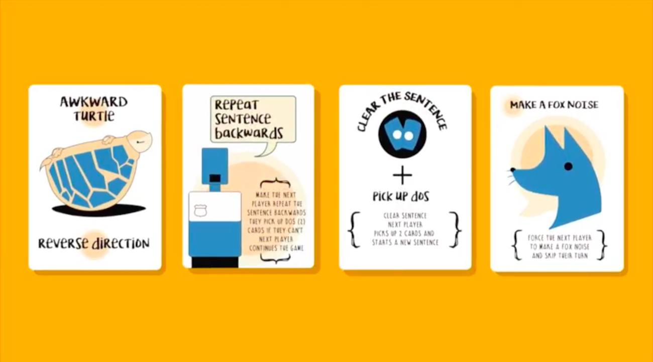 DOS! Social Card Game