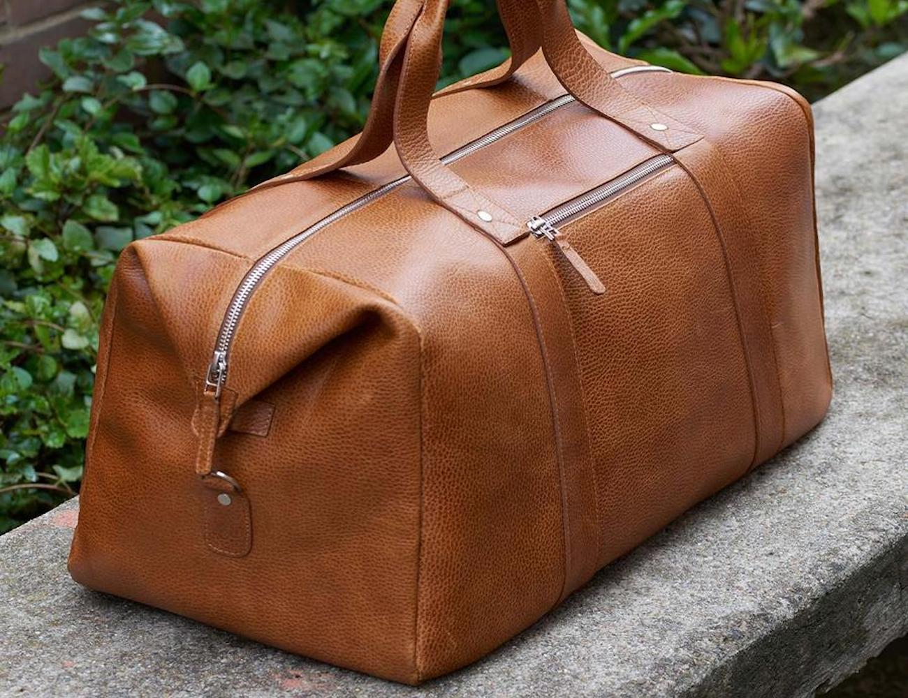 Domingo Leather Duffel Bag