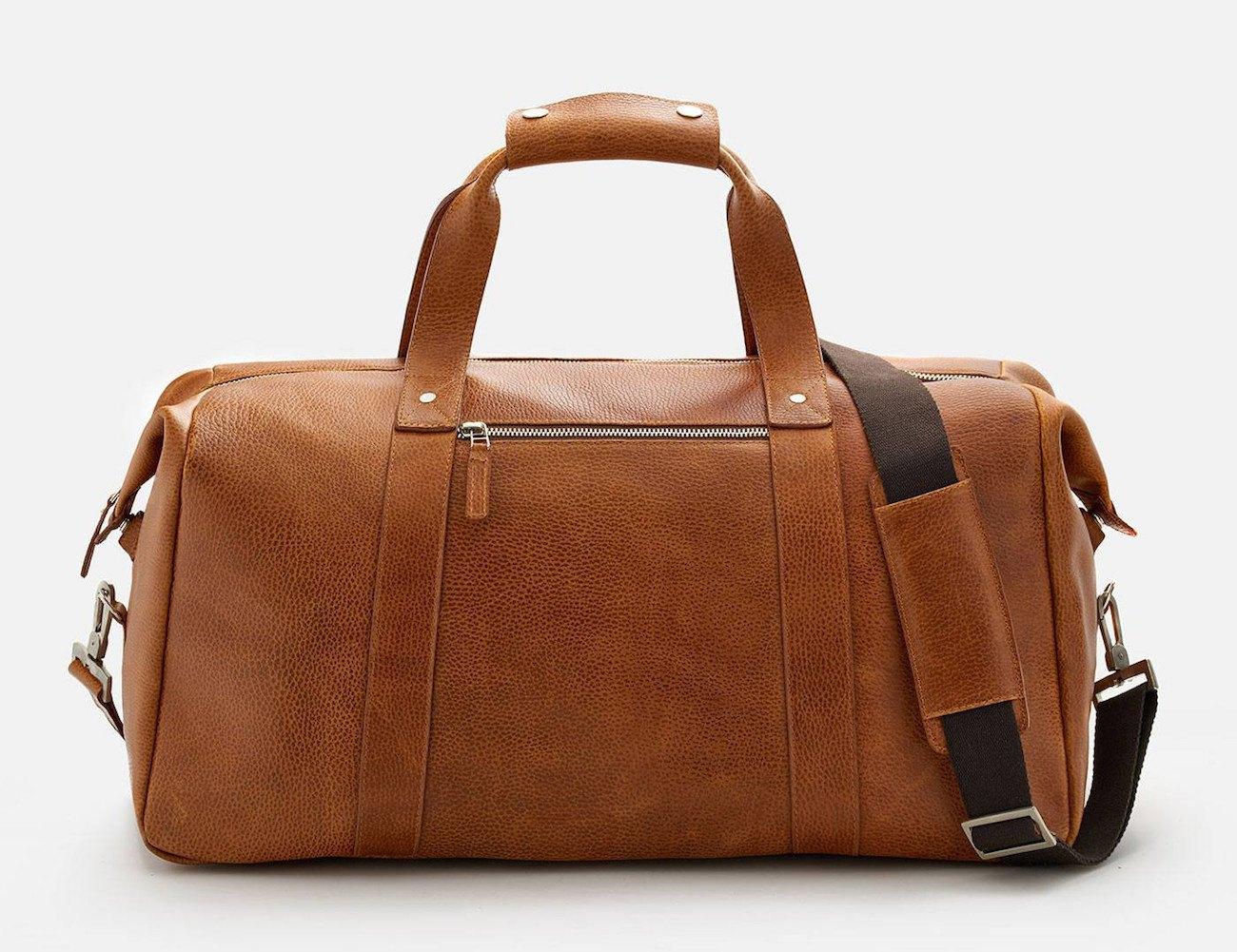 Domingo Leather Duffel Bag
