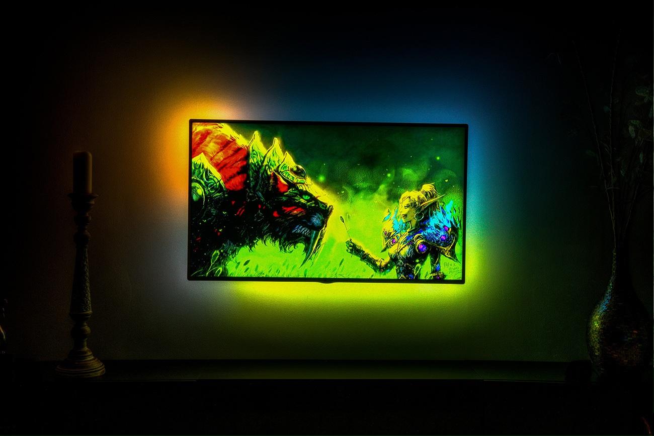DreamScreen Responsive LED Backlighting