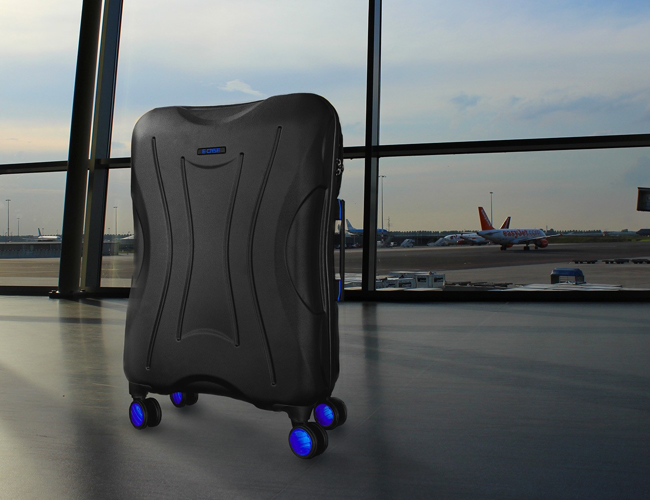E-CASE+Smart+Check-In+Luggage
