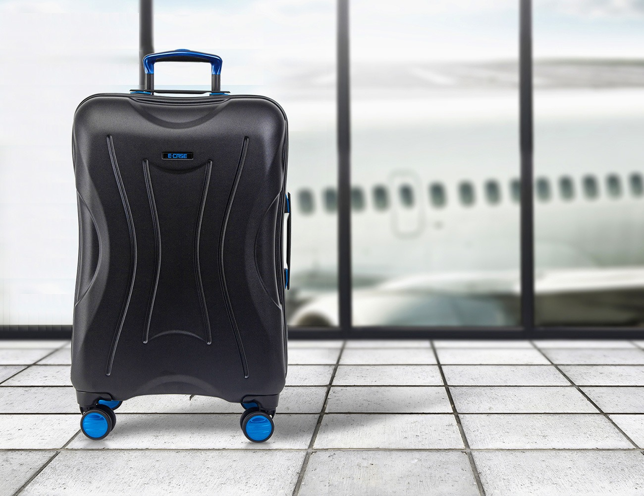 E-CASE Smart Check-In Luggage