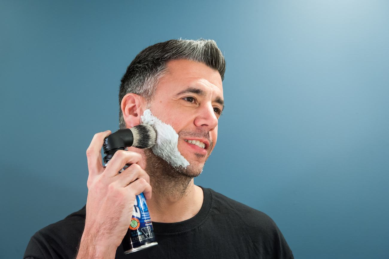 Evolution Shaving Can Shave Brush