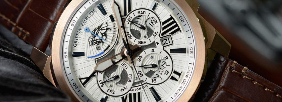 Griffin Emblem watches are the best of French design