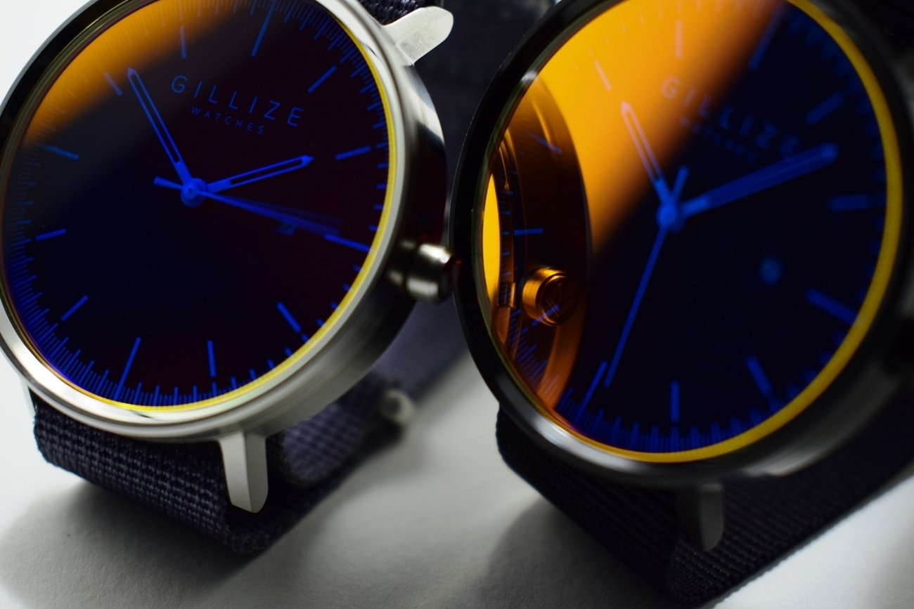 GILLIZE+Distinctive+Minimalist+Watches