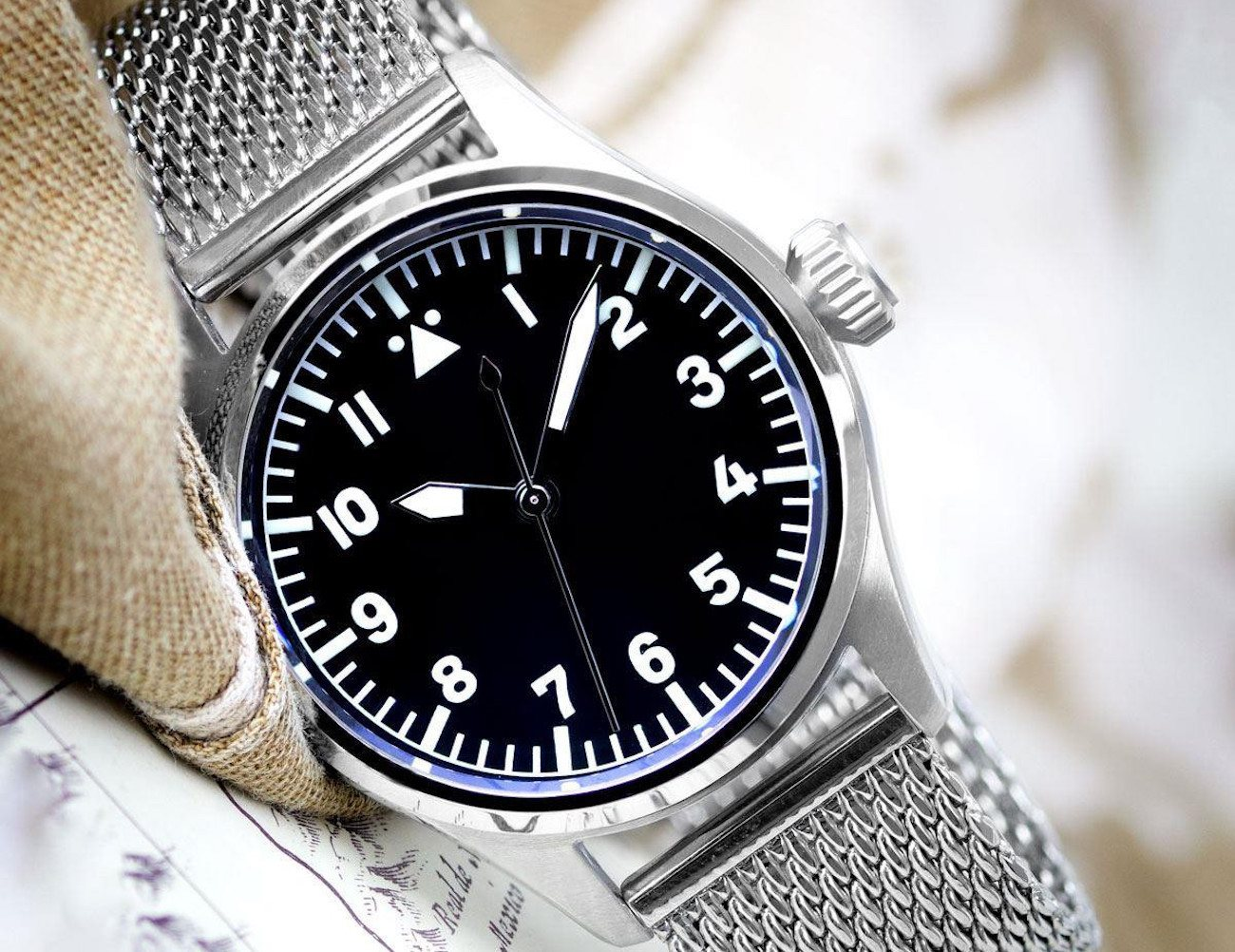 Geckota K1 L01 Pilot Watch